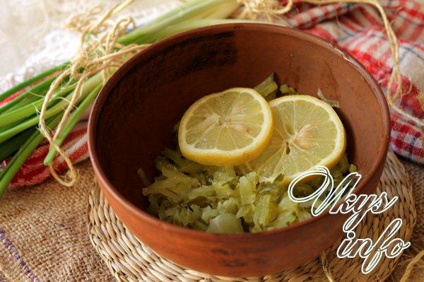 лимон режем