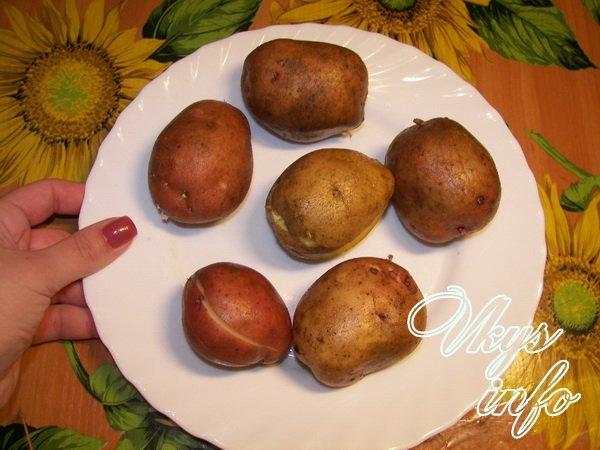 Как сделать картошку в микроволновке в домашних условиях 77