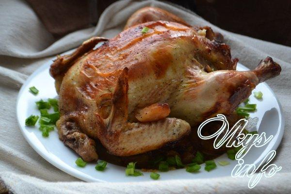 Как приготовить курице в духовке на решетке