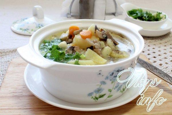 сырный суп рецепт с капустой и плавленным сыром рецепт