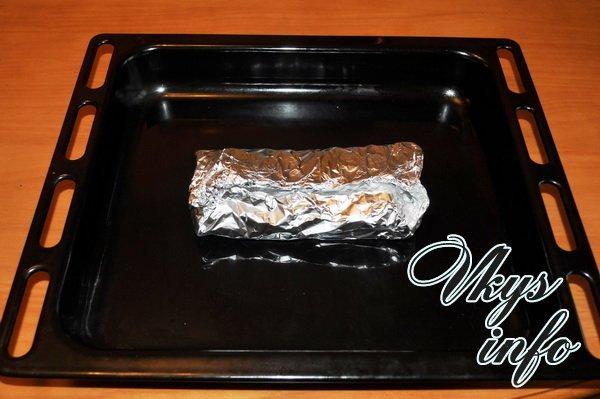 лосось в духовке со сливками рецепт с фото