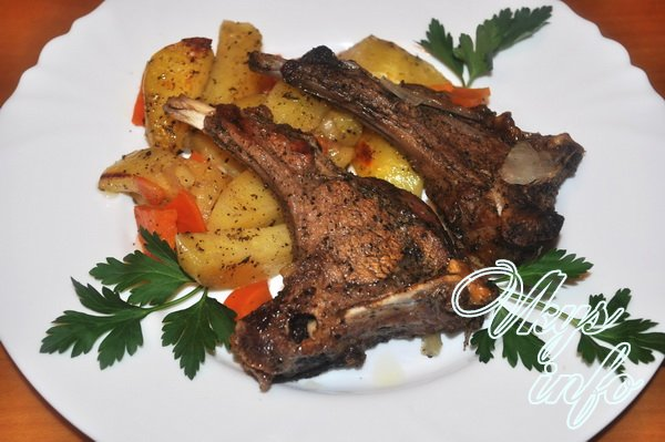 Антрекот из баранины рецепт пошагово