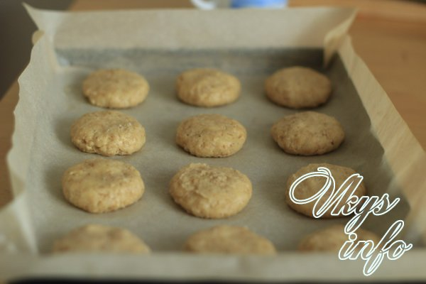выпекаем печенье шаг 1