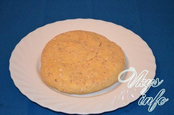 делаем тесто для овсянного печенья шаг 6