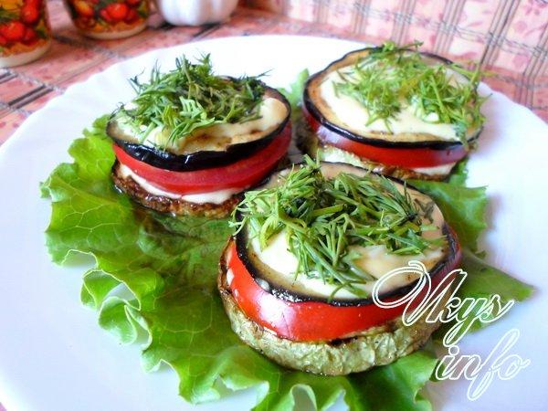 Закуски с помидорами - рецепты с фото 87