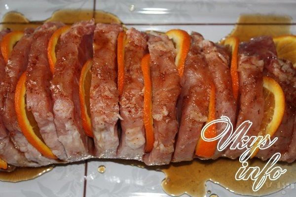 карбонат свиной рецепты в духовке в рукаве