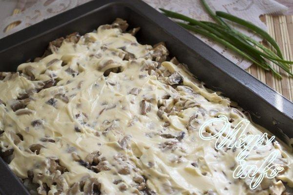рецепт картофельная запеканка с куриным мясом