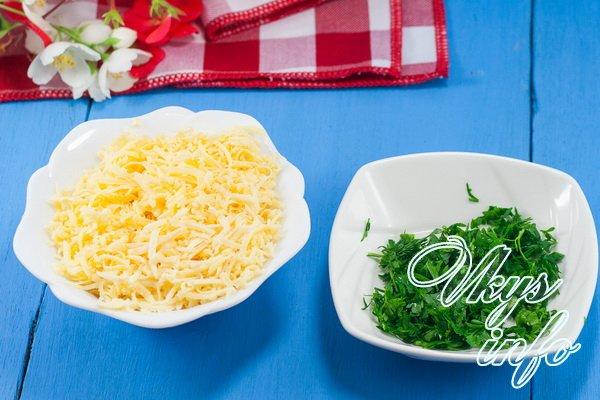 сыр зелень