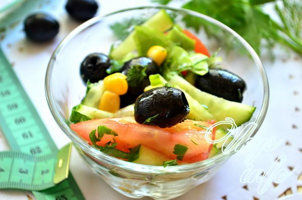 Овощные салаты для похудения