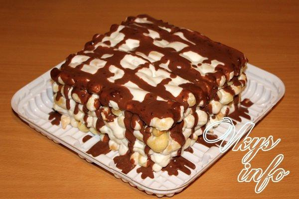 домашняя выпечка торт дамские пальчики рецепт