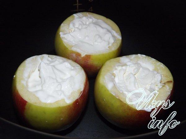 запеченные яблоки шаг 2