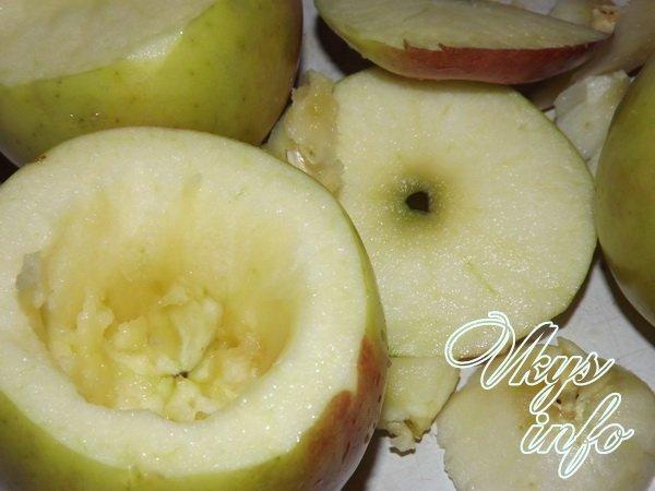 запеченные яблоки шаг 1