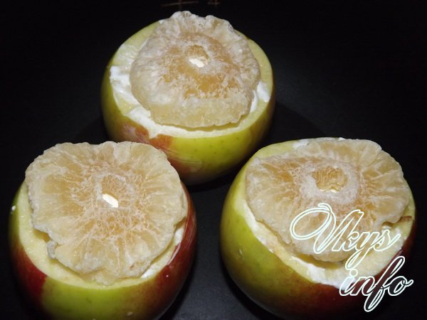 запеченные яблоки шаг 3