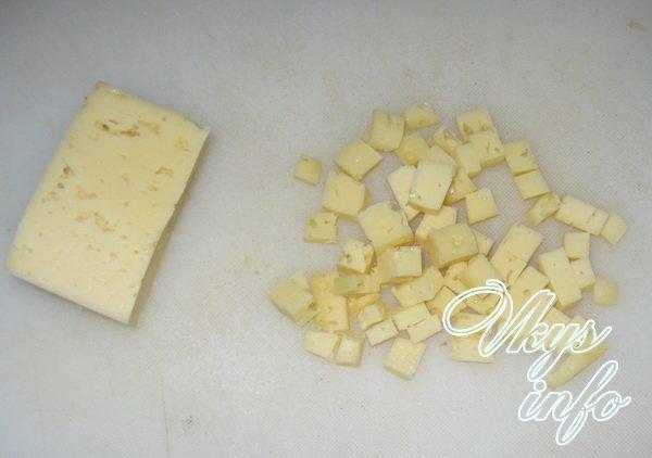 сыр режем