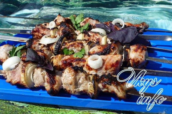 рецепт Рецепт шашлыка из свинины в кефире
