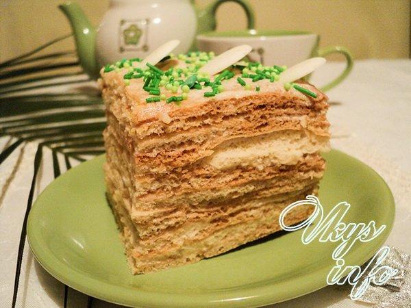 рецепт торт на большую компанию