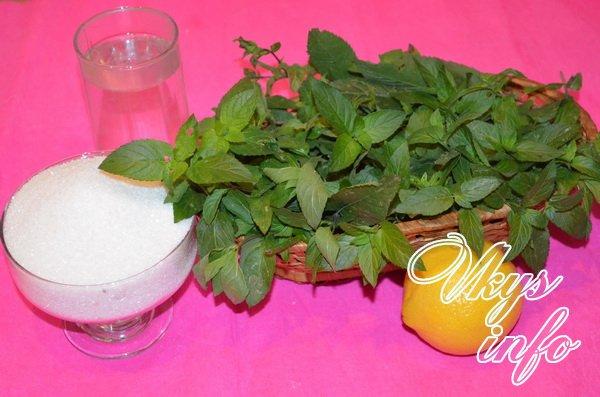 варенье из мяты и лимона рецепт с фото