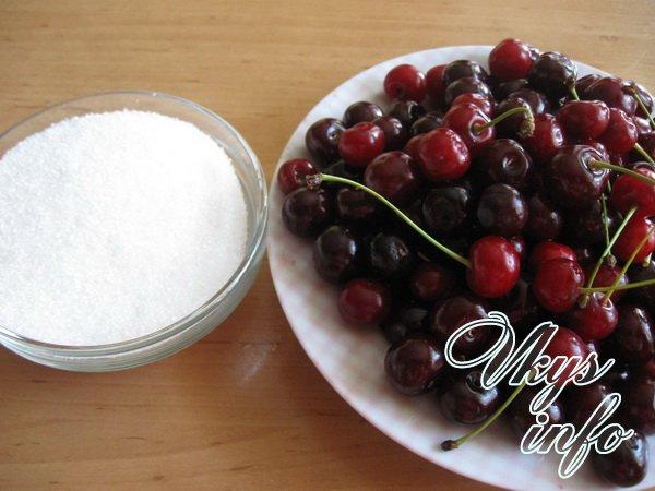 Как сделать цукаты из вишни в домашних условиях фото ингредиенты