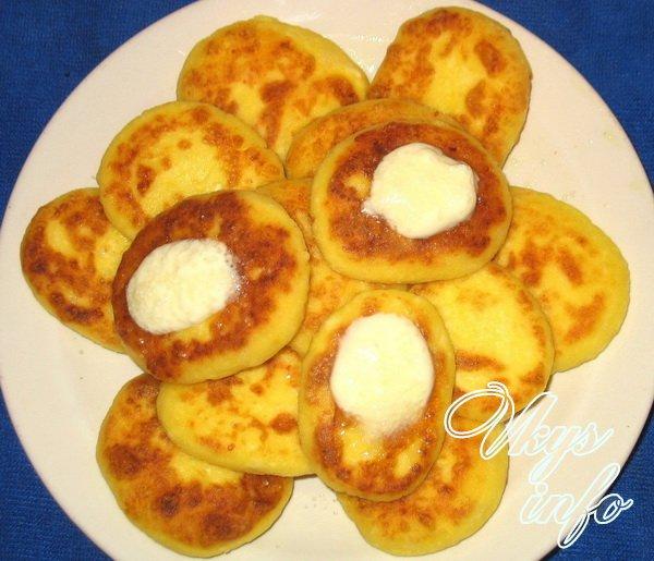 сырники из творога рецепт с фото на сковороде