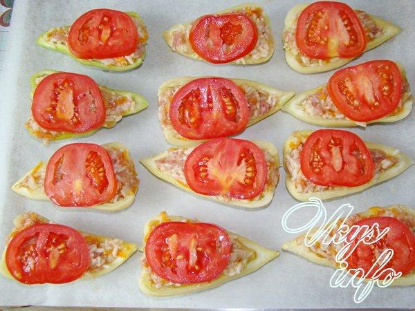 фаршированные перец помидоры