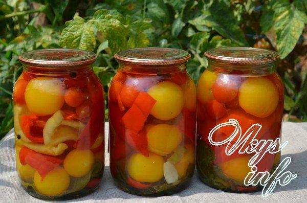 Бурые помидоры на зиму рецепты пошагово