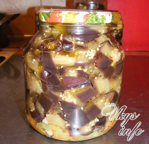 баклажаны под грибы рецепт с фото на зиму
