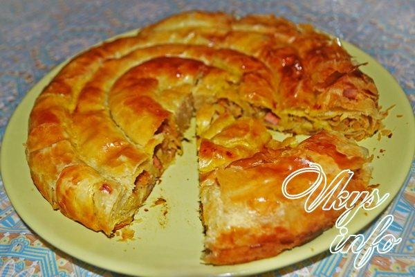 рецепт пресного теста для пирогов с капустой