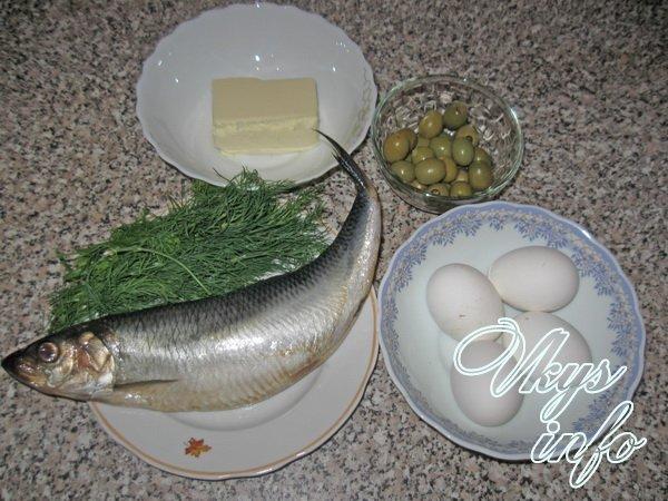 Селедочный паштет фото ингредиенты