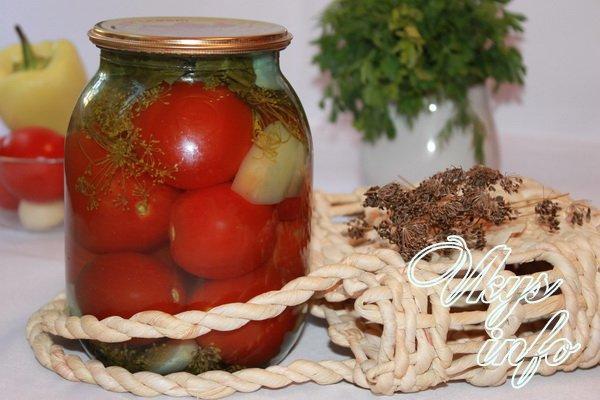 Консервированные помидоры рецепты на зиму