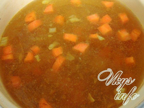 Суп с белыми грибами и перловкой рецепт пошагово