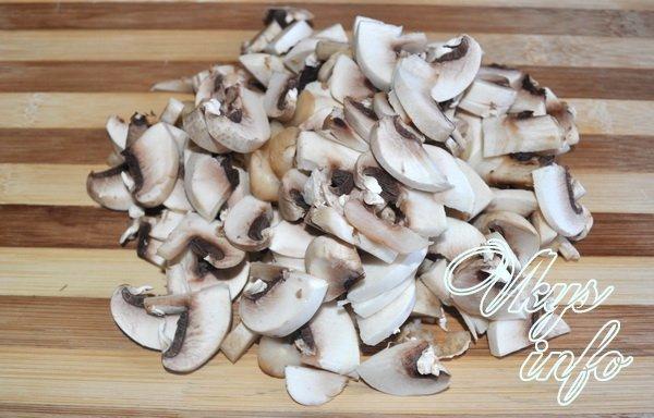 Как приготовить грибной суп пюре со сливками