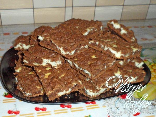 печенье с какао и творогом рецепт с фото