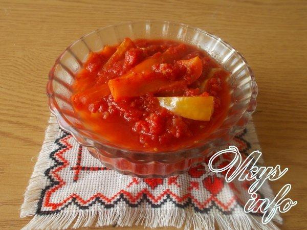рецепт Лечо из помидор и перца на зиму рецепт