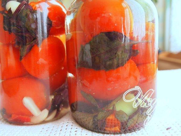 Рецепт помидоры с базиликом