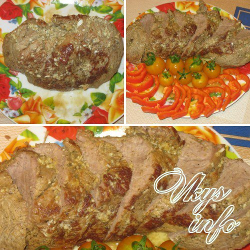 запекание мяса в мультиварке рецепты с фото