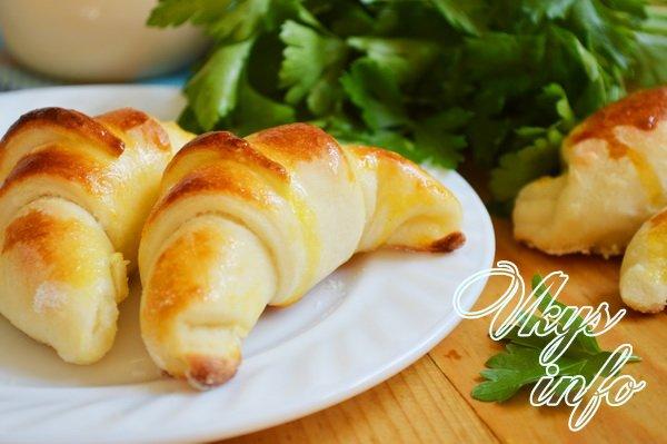 рецепт Булочки с плавленым сыром