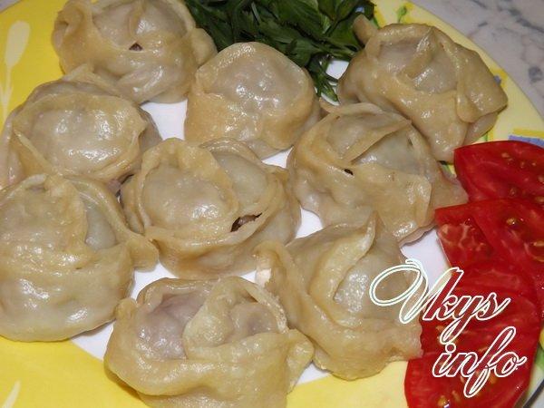 Манты (баранина, курдюк, лук) - Кулинария для мужчин