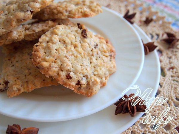 хрустящие печенье рецепт