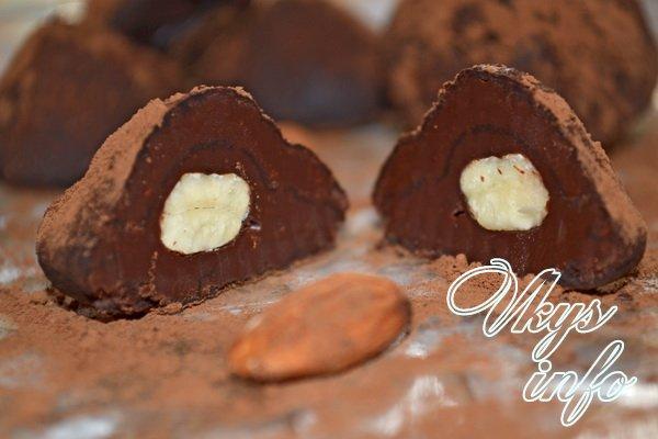 рецепты руками фото своими конфеты Шоколадные с