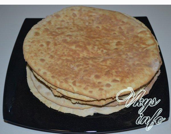 Торт наполеон на сковороде рецепт со сгущенкой