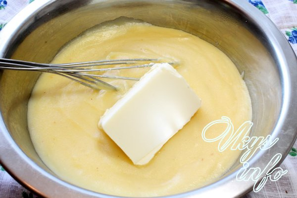 Крем с маслом и сгущенкой для наполеона