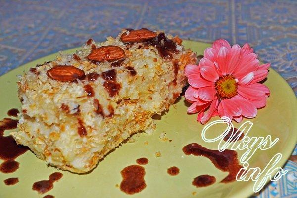 рецепт Слоеное пирожное наполеон