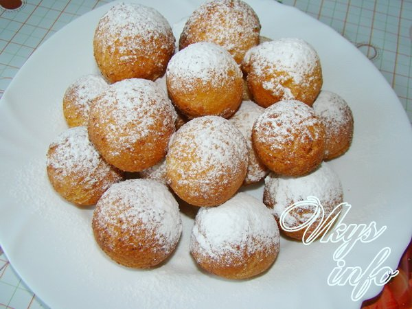 пончики Рецепт с сметаной на