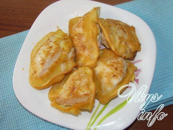 филе курицы в кляре на сковороде рецепт с фото