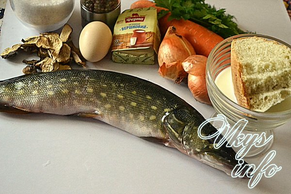 котлеты из щуки пошаговый рецепт с фото с салом