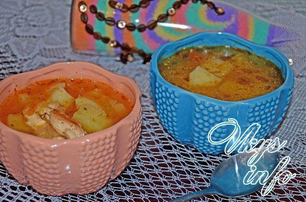 рецепт супа с курицей в мультиварке панасоник