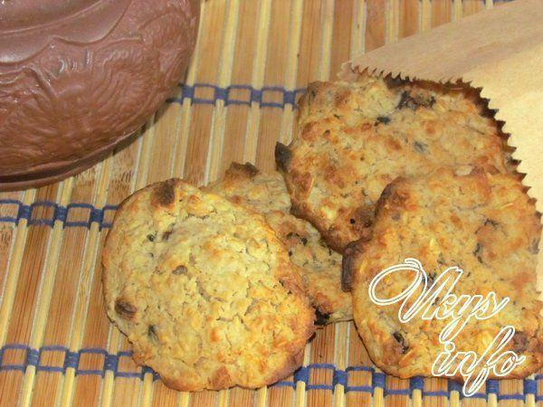 рецепты румяного печенья без муки