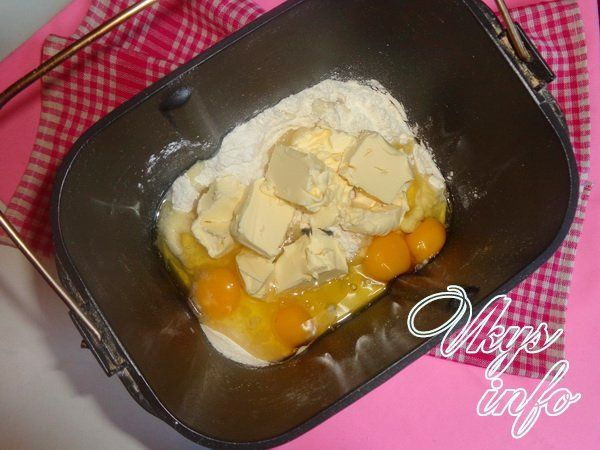 Кулич в хлебопечке Панасоник рецепт с фото