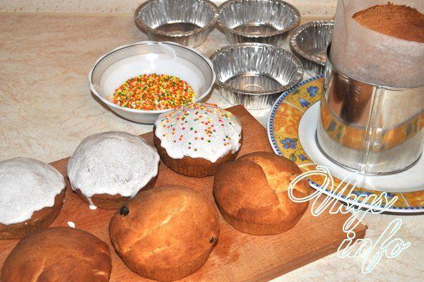 Пасхальный кулич на сухих дрожжах рецепт с пошаговыми фото