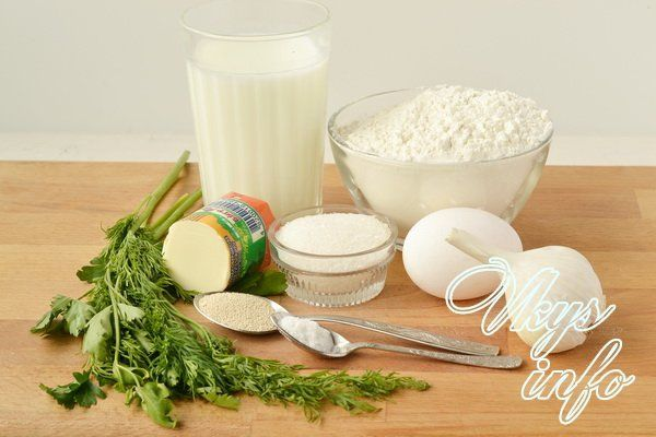 Рецепт чесночных булочек фото ингредиенты
